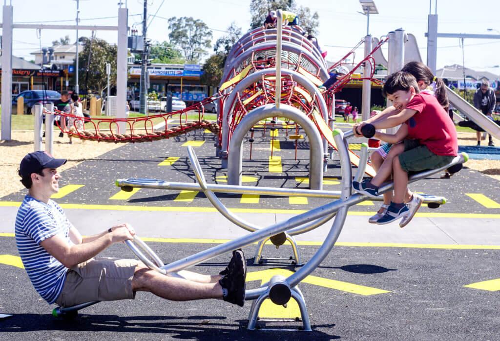 aeroplane playground braybrook