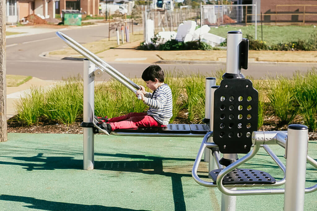 Muster Drive Woodlea playground