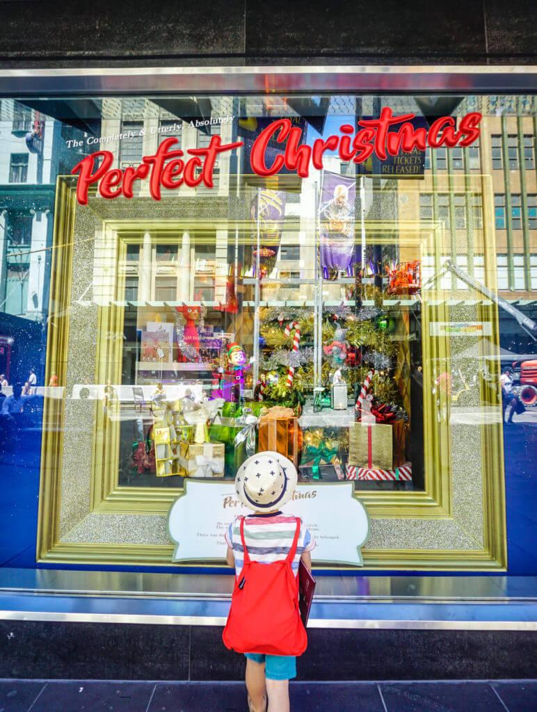 myer christmas windows 2017