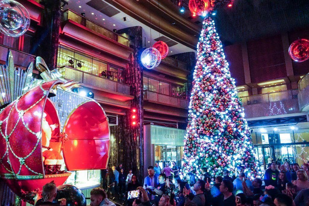 crown christmas show