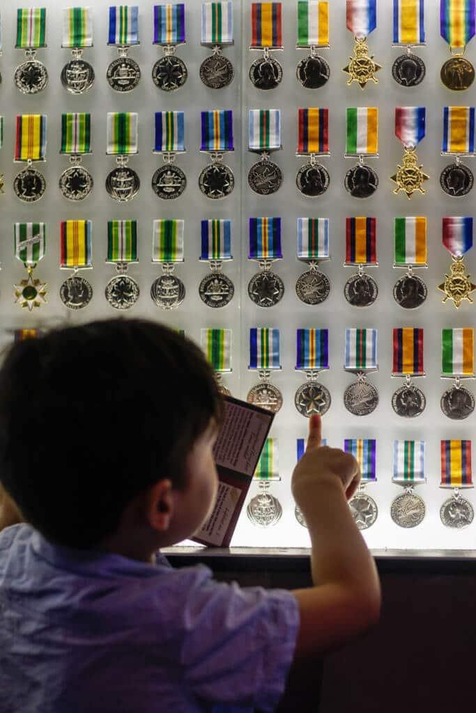 shrine kids shrine of remembrance