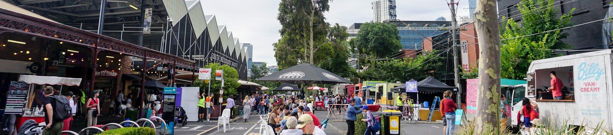 HOT: South Melbourne Night Market, South Melbourne