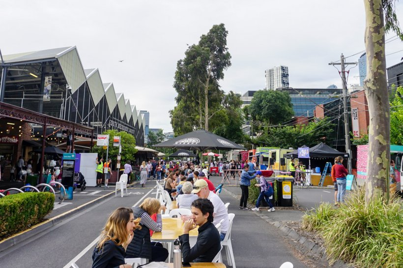 South Melbourne Night Market