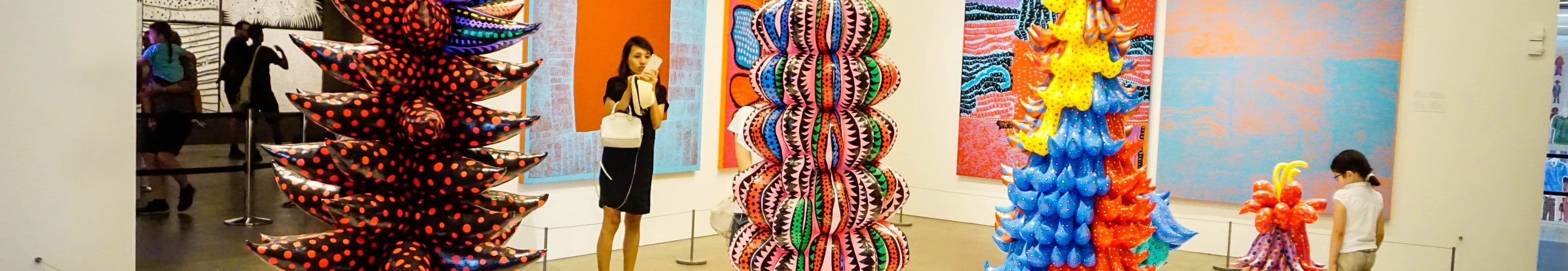 HOT: Yayoi Kusama: Life Is The Heart Of The Rainbow + Me, Myselfie And I, Gallery Of Modern Art, Stanley Place, South Brisbane