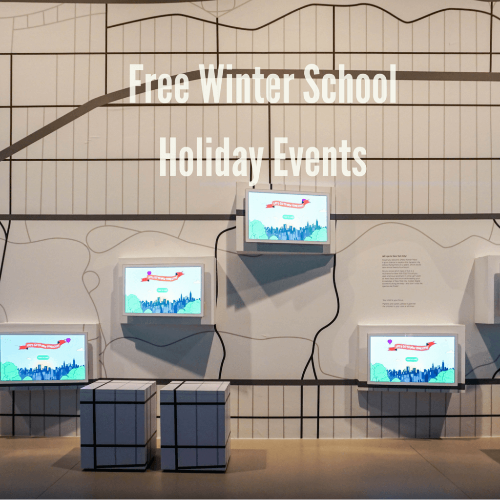 free winter school holiday events melbourne