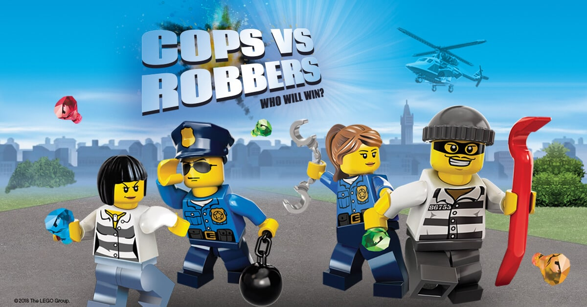 Legoland LEGO City Cops And Robbers