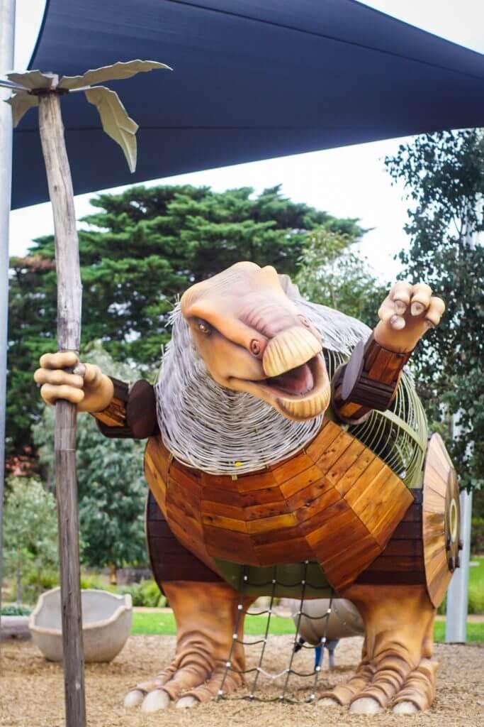 dinosaur park yarraville