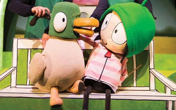Sarah & Duck Live Show