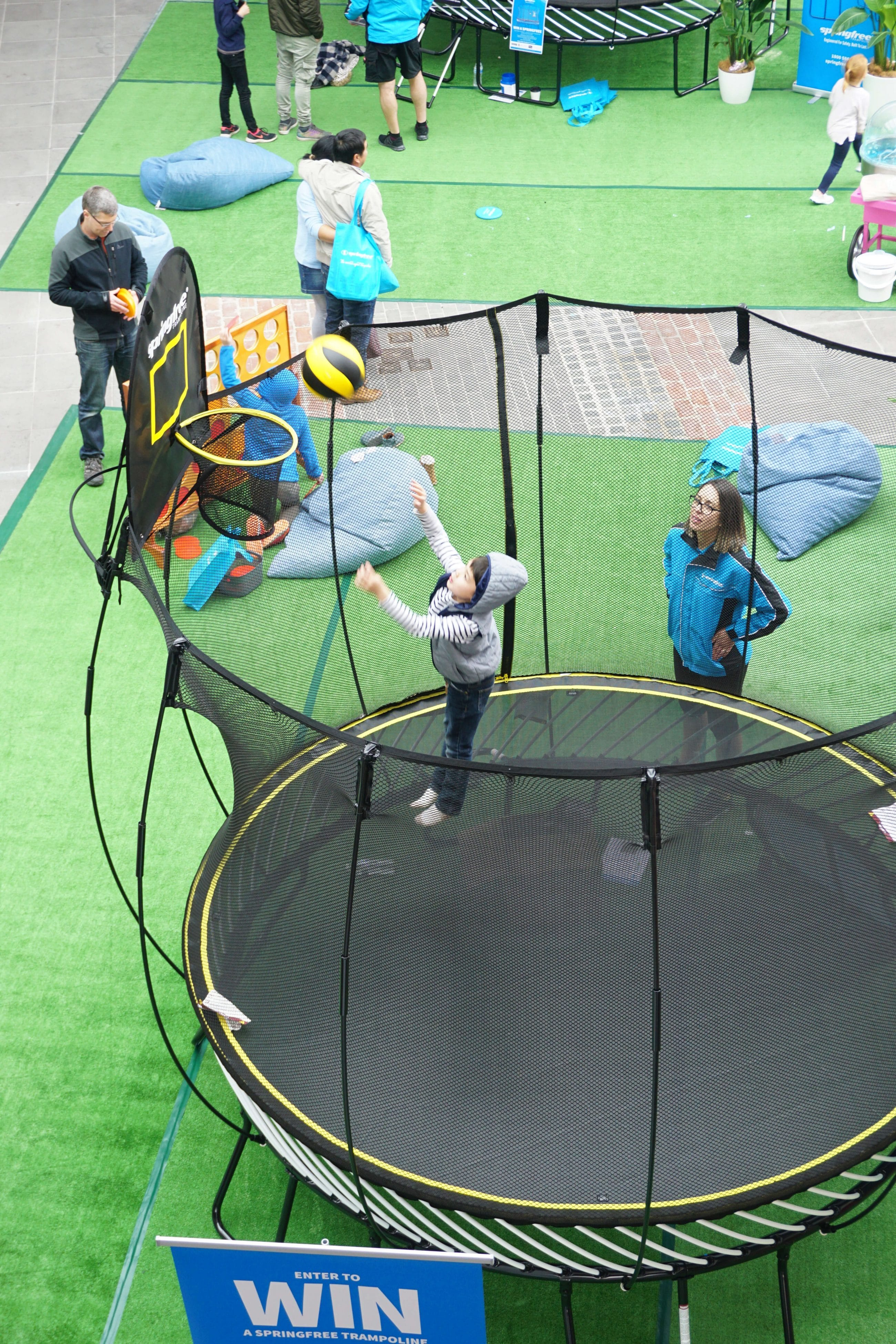 trampoline district docklands