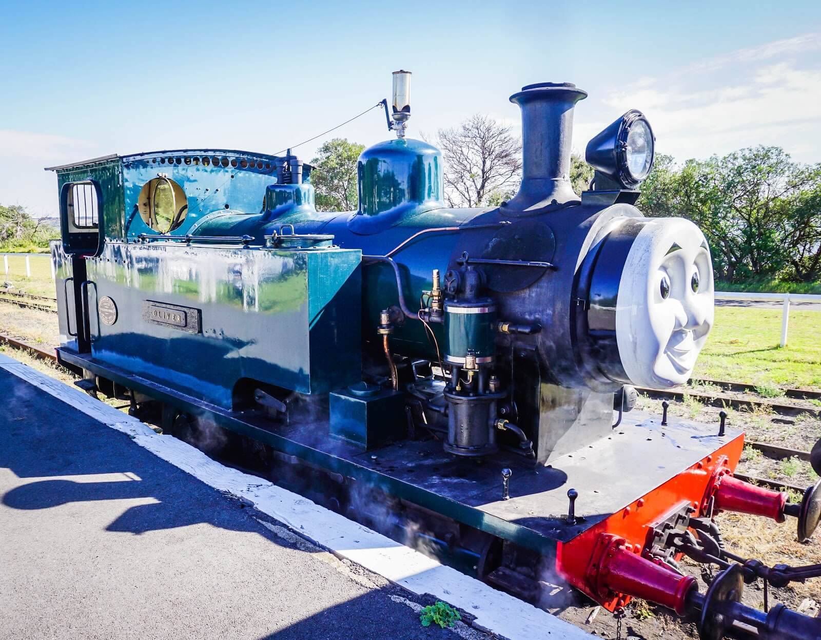 bellarine railway day out with thomas