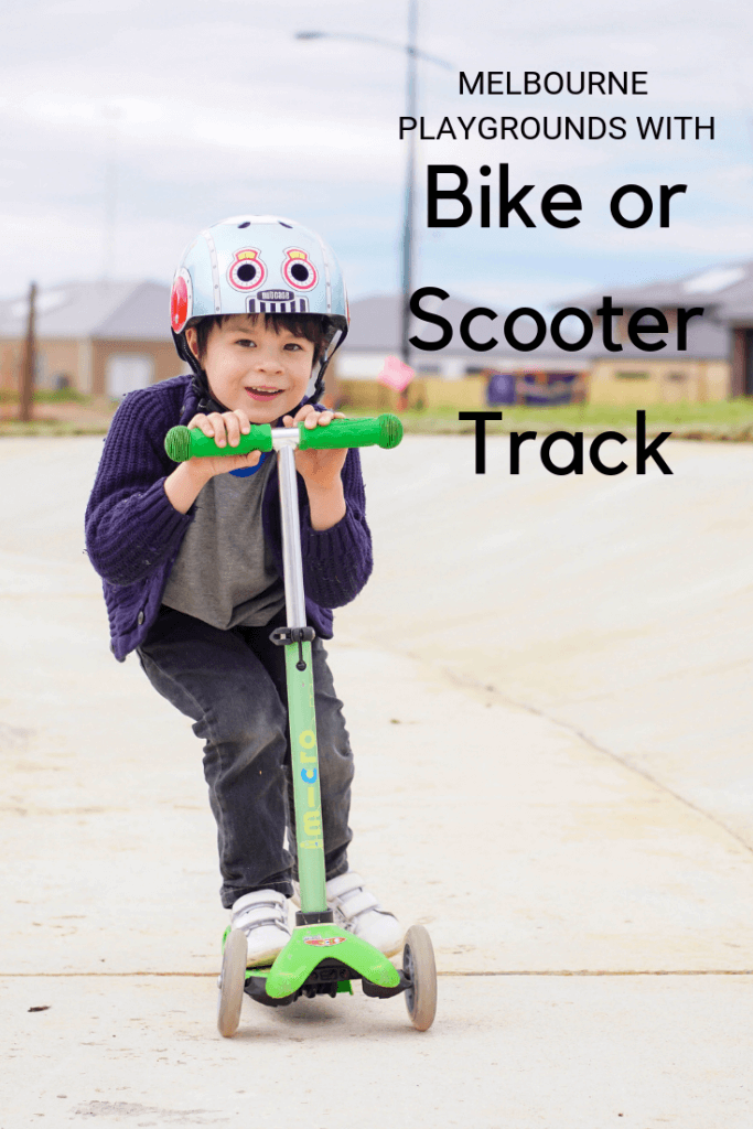 Melbourne Playgrounds Bike Scooter Track