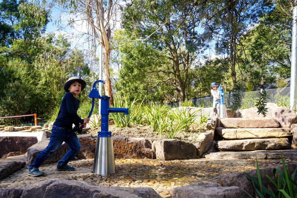 nature play healesville sanctuary