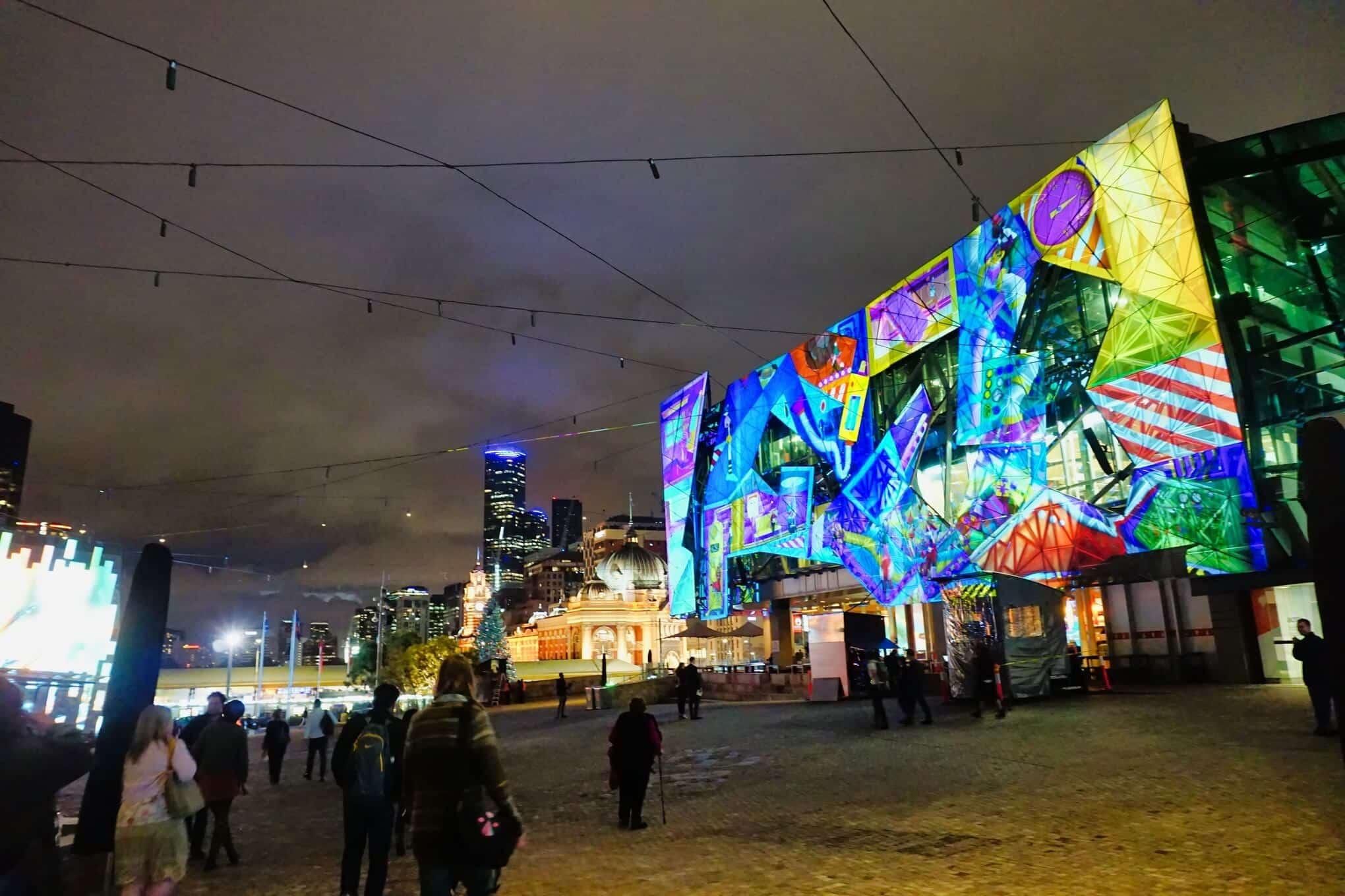 Christmas Square Federation Square