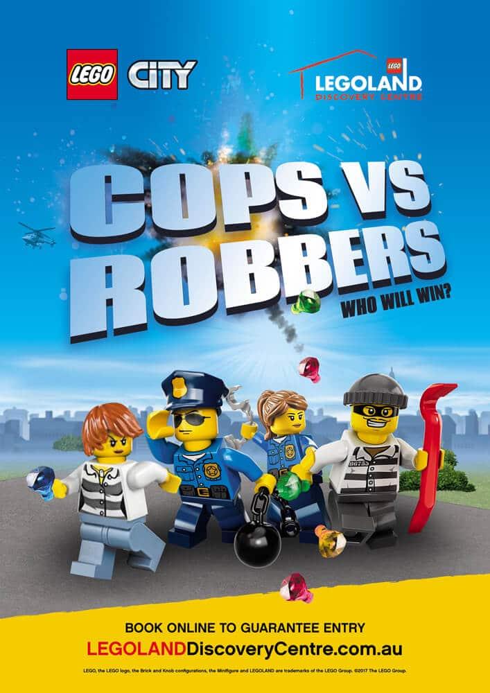 Legoland LEGO City Cops vs Robbers
