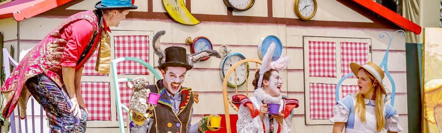HOT: Alice In Wonderland, Rippon Lea Gardens, Elsternwick