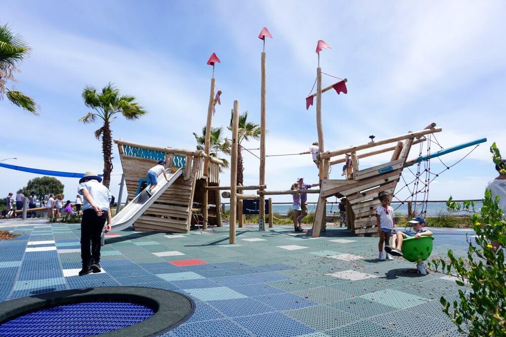 north road playground