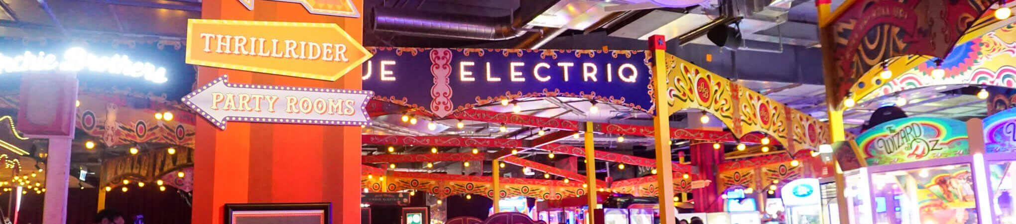 HOT: Archie Brothers Cirque Electriq, The District Docklands