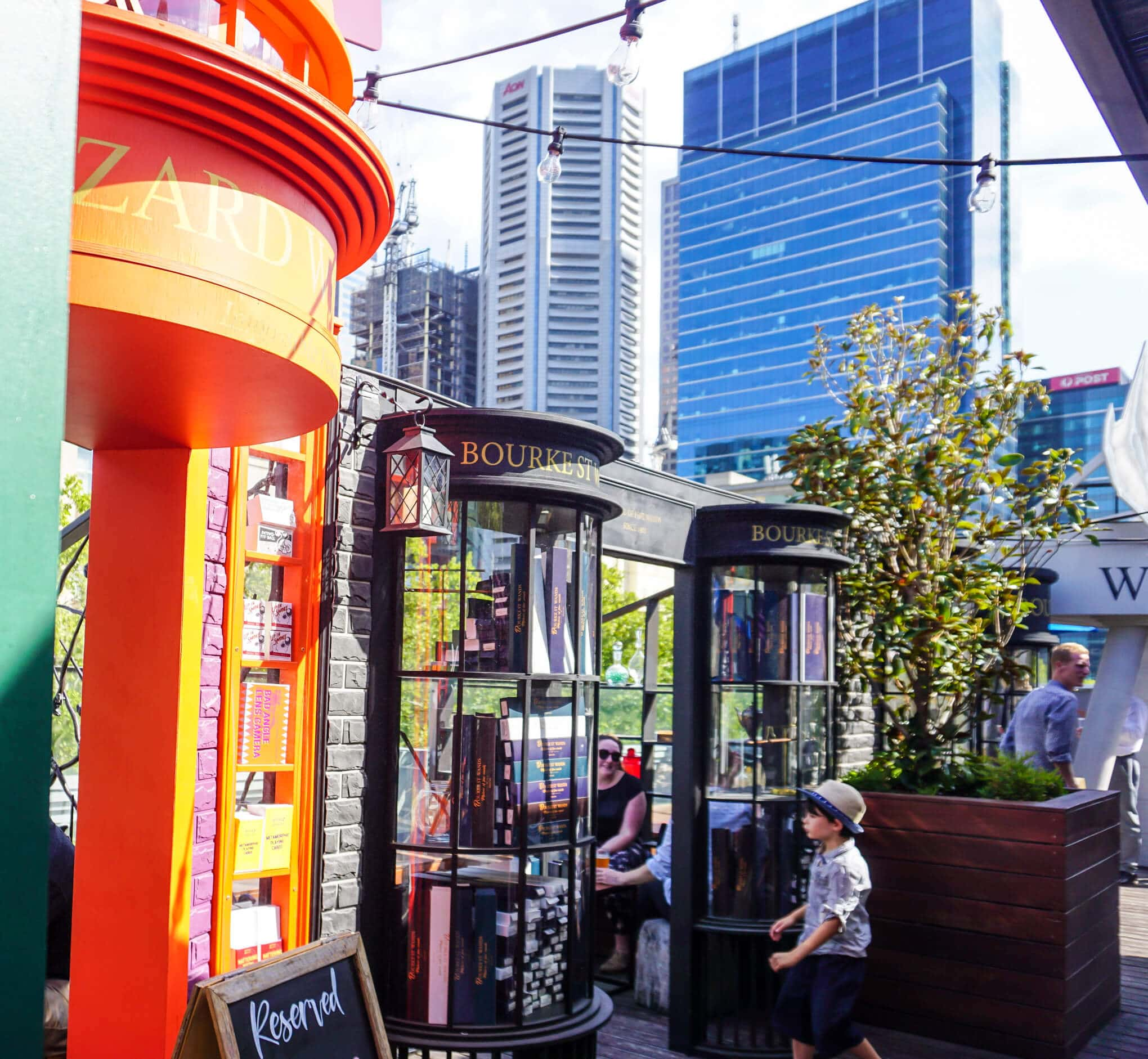 Harry Potter Rooftop Bar Imperial Hotel Melbourne Review